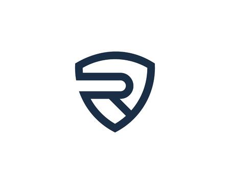 Letter R Icon Logo Design Element Logo