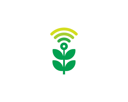 Wifi Icon Logo Design Element Ilustrace