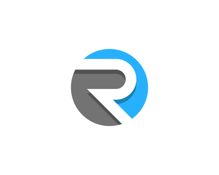 Lettre r icône élément de conception de logo Banque d'images - 80692887