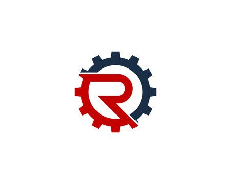 Lettre r icône élément de conception de logo Banque d'images - 80692938