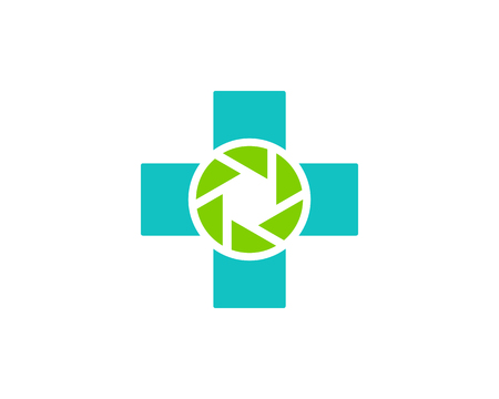 Medicina Icono Elemento de diseño del logotipo Foto de archivo - 80819471