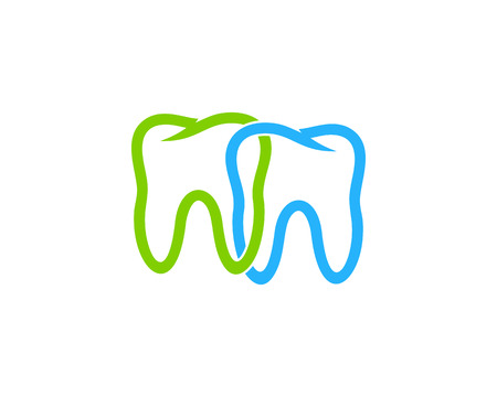 Dental Icon Logo Design Element