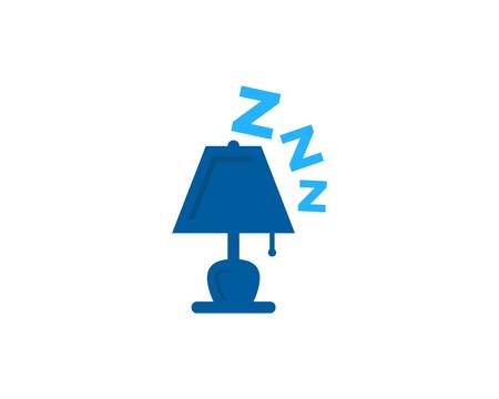 Sleep Icon   Design Element Illustration