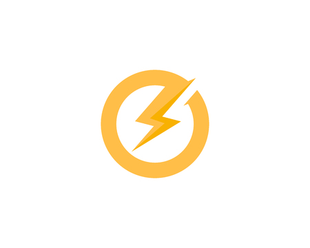 Power Energy Icon Logo Design Element Фото со стока - 80768046