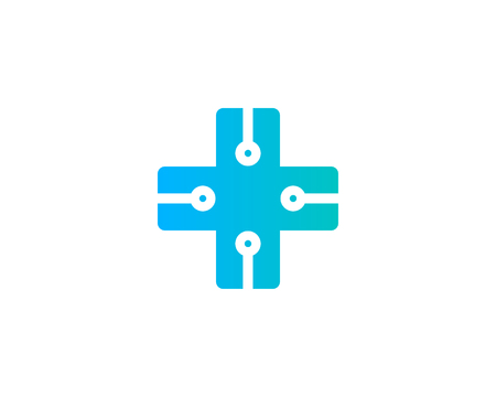 Medical Icon Logo Design Element