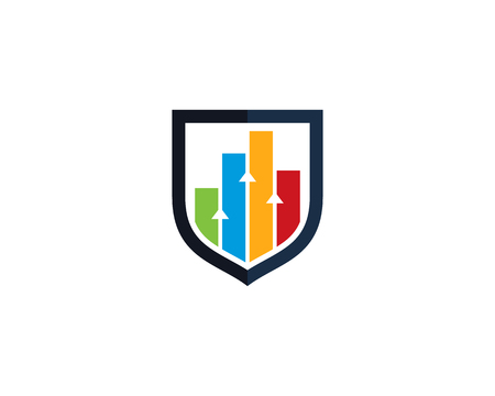 Shield Security Icon Logo Design Element