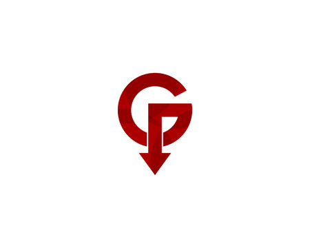 Letter G Icon Logo Design Element Illustration