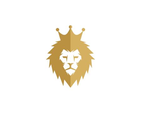 Roi icône élément de conception de logo Banque d'images - 80610923