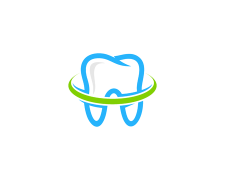 치과 아이콘 로고 디자인 요소