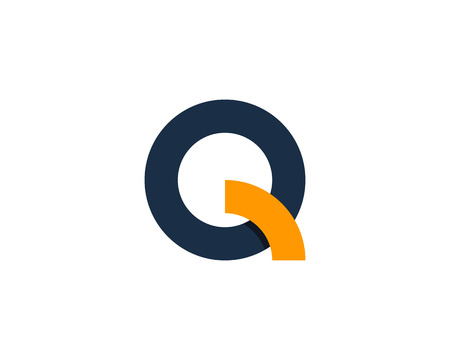 Letter Q Icon Logo Design Element