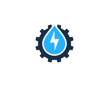 panels: Power Energy Icon Logo Design Element