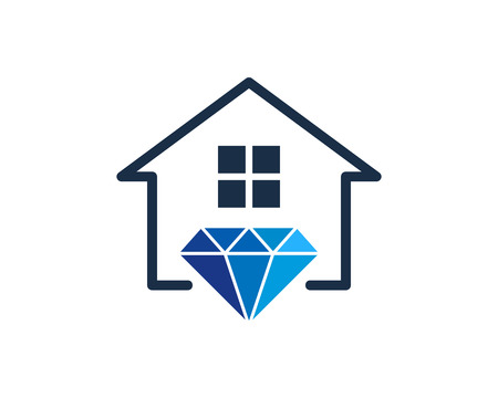 Diamond Icon Logo Design Element Stock fotó - 80612352