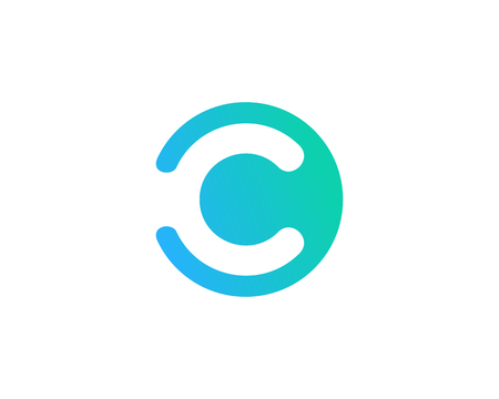 Letter C Icon Logo Design Element