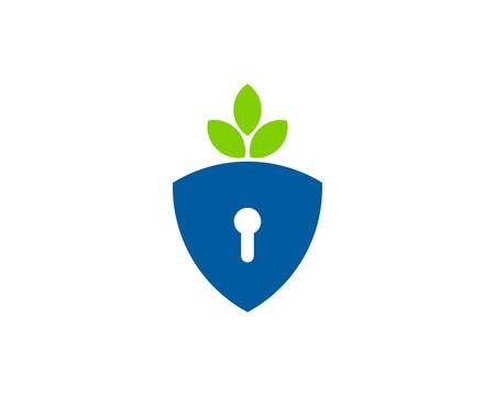 lockout: Security Icon Logo Design Element
