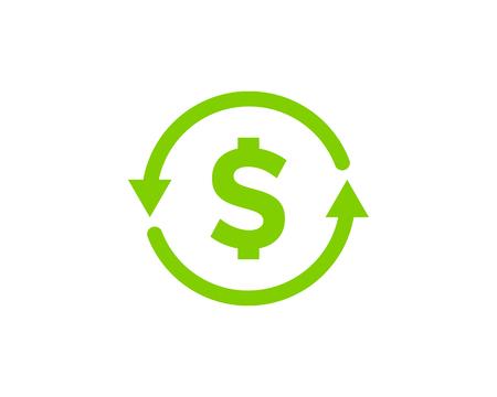 Stock Market Business Icon Logo Design Element Illustration