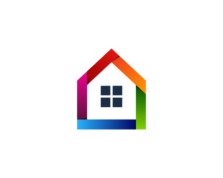 House Home Icon Logo Design Element