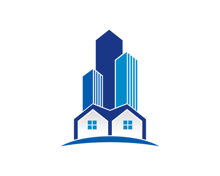 Ikona Real Estate Logo Design Element Logo