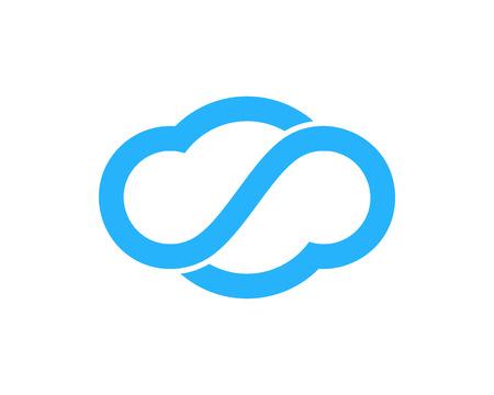 Infinity Icon Logo Design Element Logó