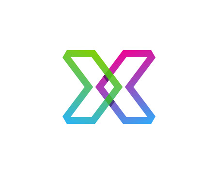Letter X Icon Logo Design Element