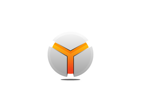 Letter Y Icon Logo Design Element