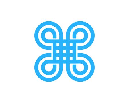 Infinity Icon Logo Design Element Stock Vector - 80611749