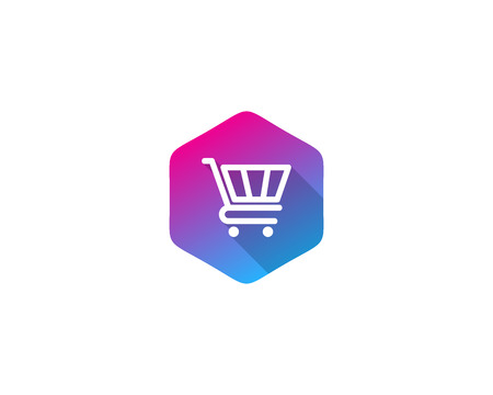 Shopping Icon Logo Design Element Banco de Imagens - 80806570
