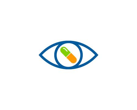 Geneeskunde Pictogram Logo Design Element Stockfoto - 80806568