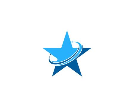 five star: Star Icon Logo Design Element