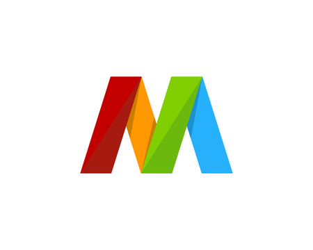 Letter M Icon Logo Design Element