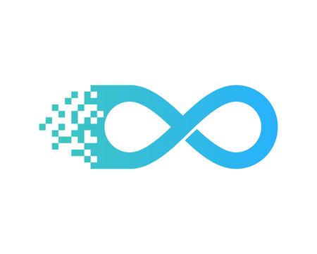 Infinity Icon Logo Design Element Stock Vector - 80611756