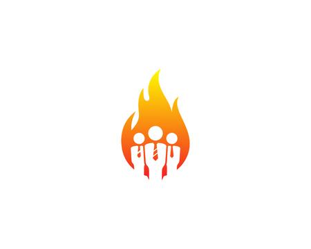 Job Icon Logo Design Element Logo