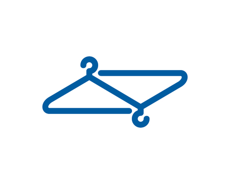 Laundry Icon Logo Design Element Reklamní fotografie - 80612139
