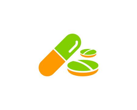 Medicine Icon Design Element