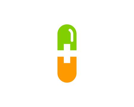 Medicine Icon Logo Design Element