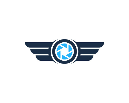 Drone Icon Logo Design Element