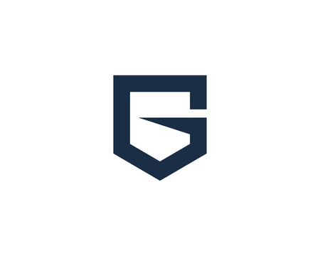 Letter G Icon Logo Design Element Çizim