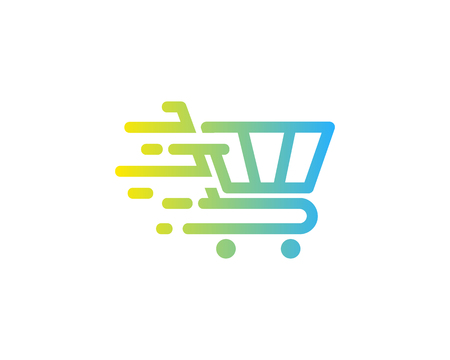 Shopping Icon Logo Design Element