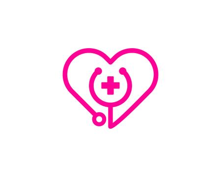 Elemento de diseño del logotipo de Medical Icon