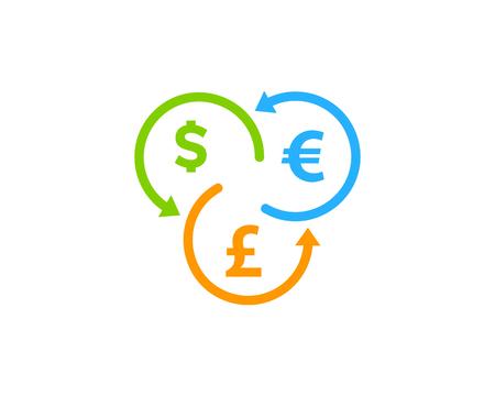 report icon: Stock Market Business Icon Logo Design Element Illustration