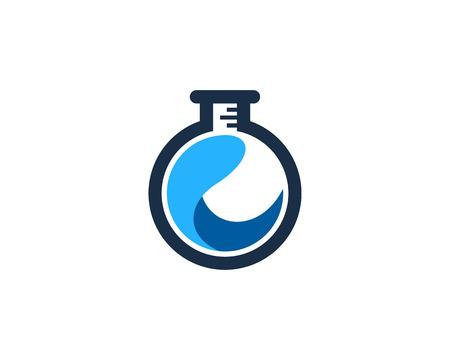 Wave Icon Design Element Ilustração