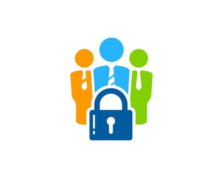 lockout: Security Icon  Design Element