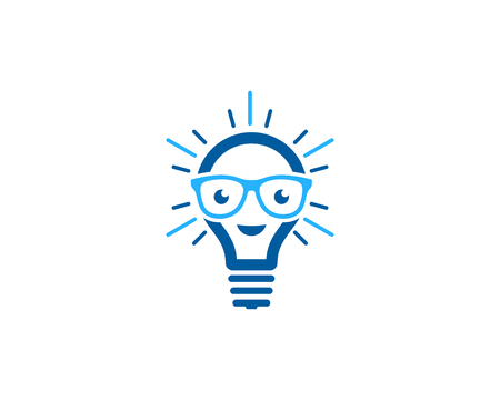 Creative Idea Icon Logo Design Element 일러스트
