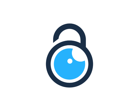 Guard Icon Logo Design Element Illustration