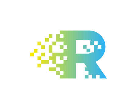Letter R Icon Logo Design Element 向量圖像