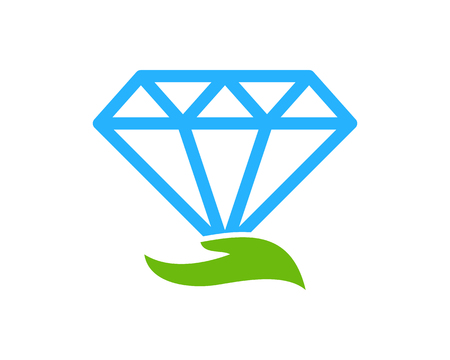 Diamond Icon Logo Design Element 版權商用圖片 - 80612407