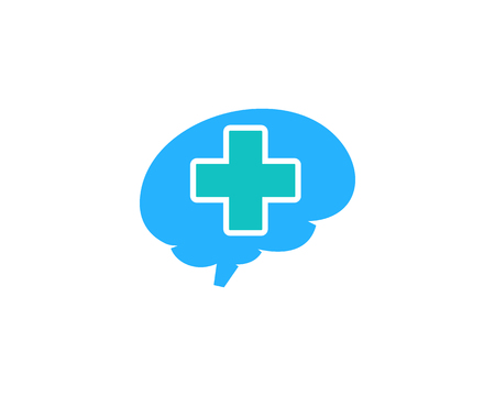 Medicina Icono Elemento de diseño del logotipo Foto de archivo - 80819199