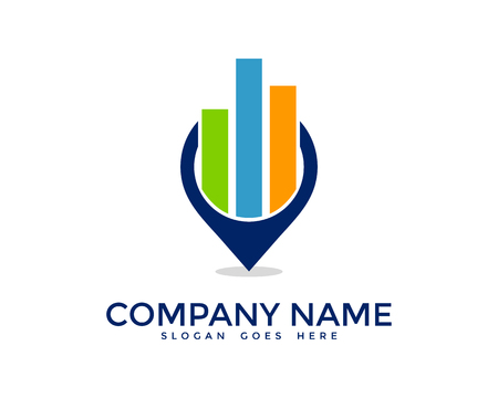 Report Icon Logo Design Element Ilustração