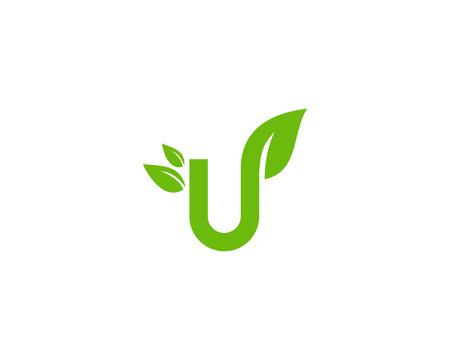 Letter U Icon Logo Design Element Stock Illustratie