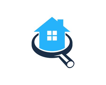 家のホーム アイコン ロゴのデザイン要素