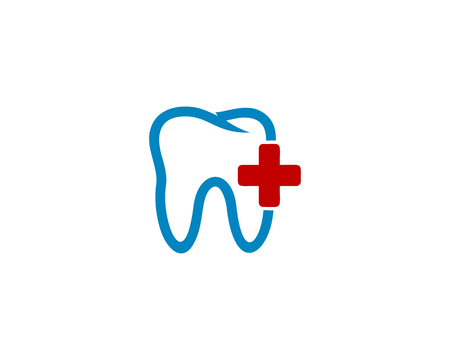 Medic Dental Icon Logo Design Element